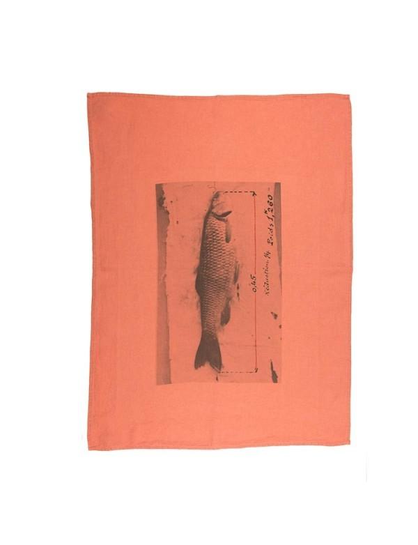 Série Limitée Louise - Torchon le poisson rose