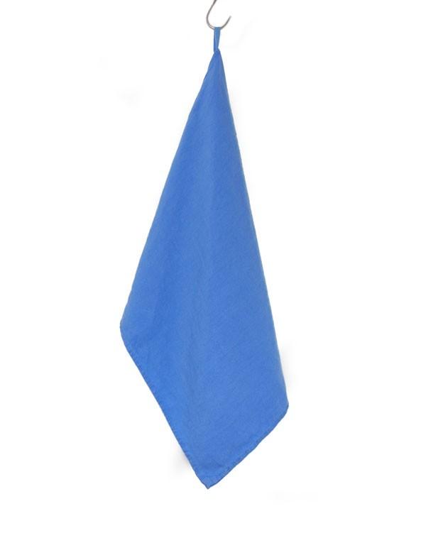 Linge Particulier - Torchon / Essuie-main bleu Azur