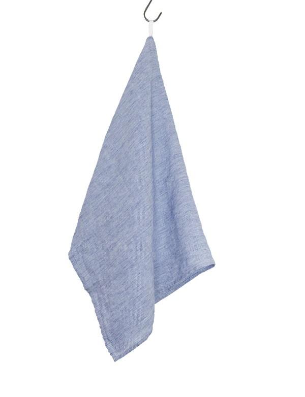 Linge Particulier - Torchon / Essuie-main Carrelage Bleu