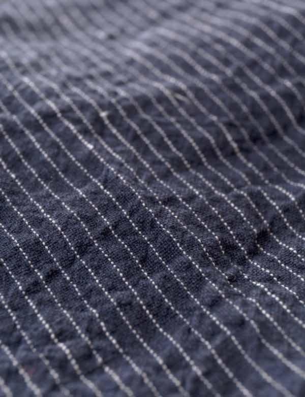 ... Linge Particulier - Grand Sac cabas en lin lavé rayure borsalino ... 001c9231901f