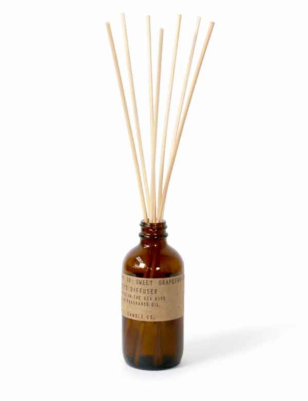P.F. Candle co - Diffuseur de parfum n°10 - Sweet Grapefruit