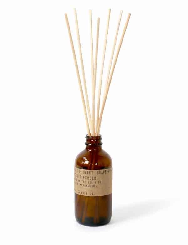 P.F. Candle co - Diffuseur de parfum n°10 - Sweet Grapefruit
