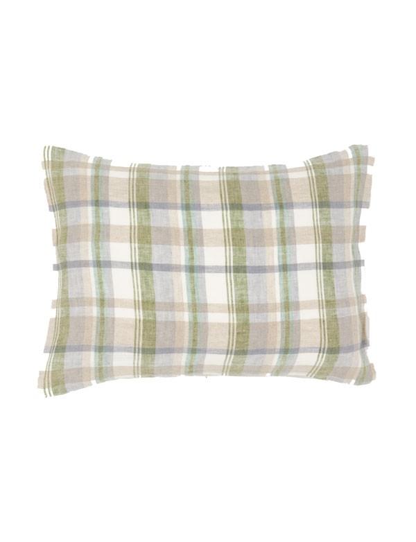 Linge Particulier - Housse de coussin en lin lavé mouchoir
