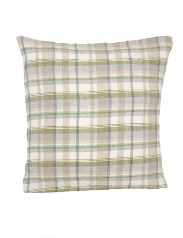 Linge Particulier - Housse de coussin en lin lavé mouchoir 50x50 cm