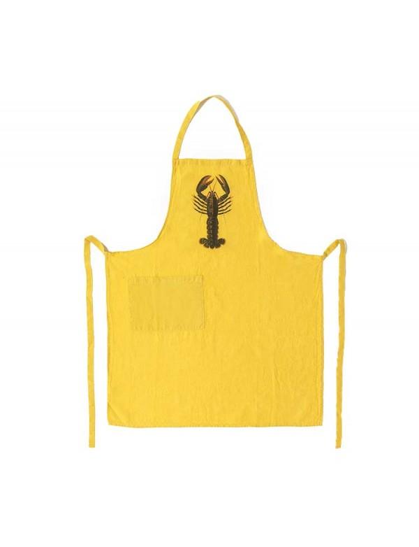 Série Limitée Louise - Tablier omar jaune