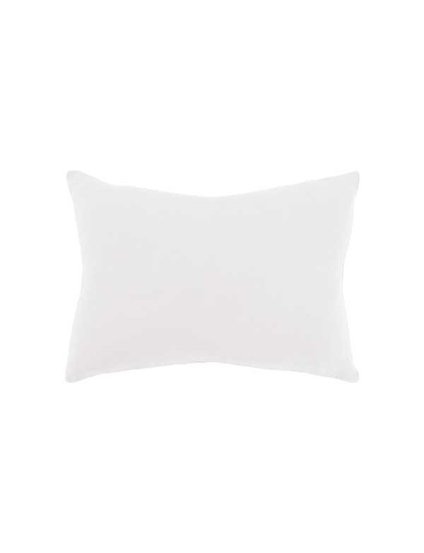 Linge Particulier - Housse de coussin en lin lavé Blanc Naturel